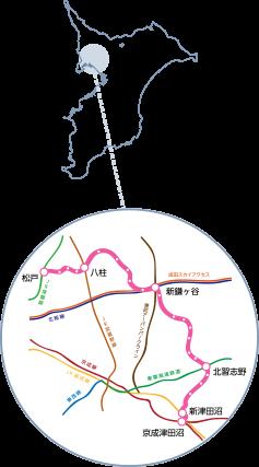 新京成線営業エリア